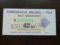 bilet u99 Piła Cz.Z.G.