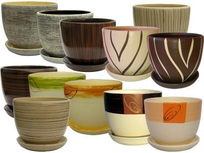 Doniczka Ceramiczna 18 Z Podstawkiem 50 Wzorów