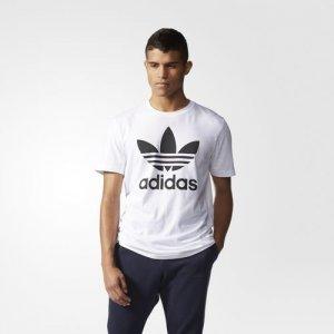 buty do biegania jak kupić przystojny Adidas Koszulka męska ORIGINALS TREFOIL biała S - 6105910893 ...