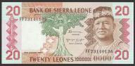 Sierra Leone - 20 leones - 1984 - stan UNC