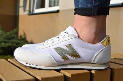 new balance 410 biało złote