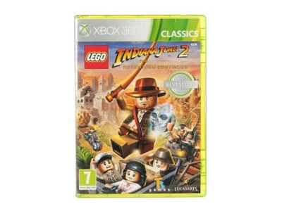 Nowa Gra Xbox 360 Lego Indiana Jones 2