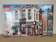 LEGO Creator 10251 Brick Bank NOWY Zgnieciony