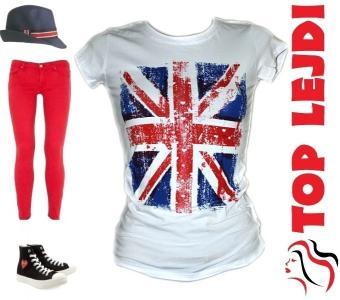 MUST HAVE KOSZULKA T-SHIRT TOP FLAGA UK BRYTYJSKA