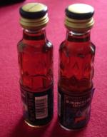 2 miniaturki Hubertus,Krauter Likier20 ml,Berlin