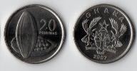 GHANA 20 PESEWAS 2007