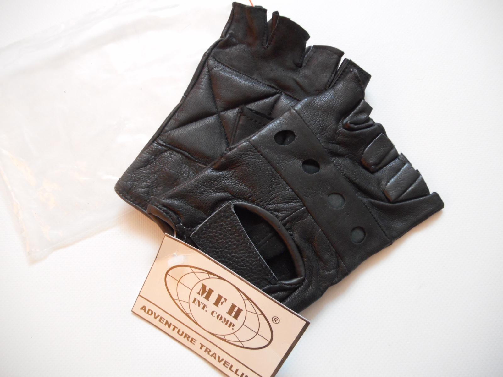 ADVENTURE TRAVELLING rękawiczki SKÓRA NATURALNA L