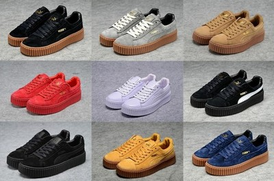 buty puma suede creepers