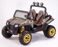 Polaris RZR 900 Camuflage Peg Perego 12V Quad