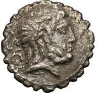Rzym - Republika AR-denar Q.A. Balbus 83/82 pne