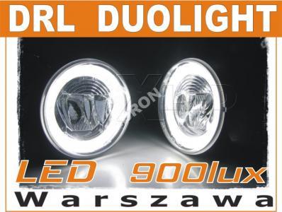 Światła dzienne halogeny DRL LED CREE okrągłe