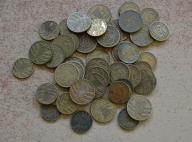 Stare Niemcy - zestaw 50 monet od 1zł i BCM