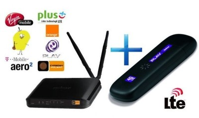 Router WiFi+Modem LTE 4G Plus Play Orange T-Mobile