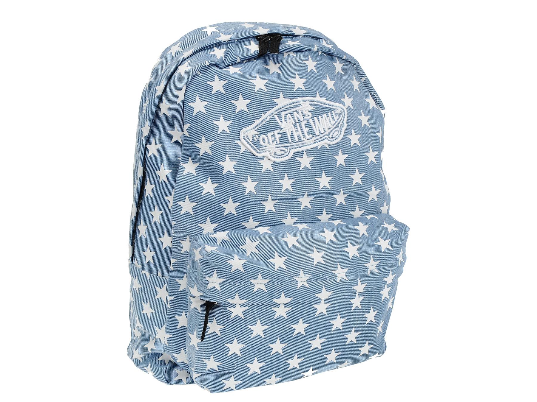 d4009f27efb52 Plecak Vans Gwiazdki Denim Realm Backpack VNZ07XJ - 7033699754 ...