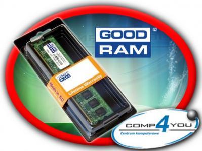 NOWA PAMIĘĆ RAM DDR-3 GOODRAM 4GB PC1333 CL9