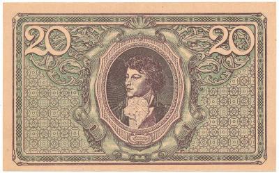 2655. 20 mkp 1919, Mił.21a - D - st.1-