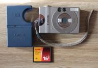 Aparat CANON IXUS 2,1 Mpix + Compact Flash 16MB