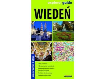 Wiedeń 2w1 Przewodnik+atlas Praca zbiorowa