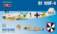 Eduard 1:48 Messerschmitt Bf-109 F-4 WEEKEND editi