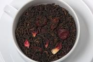 Herbata czerwona smakowa PU-ERH WIŚNIE W RUMIE 50g