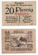 NIEMCY / ST. GOARSHAUSEN ND 20 PFENNIG
