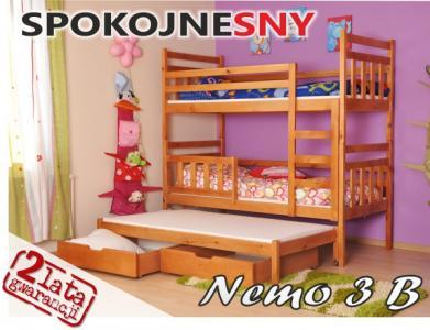 łóżka łóżko Piętrowe Nemo Gliwice Spokojnesny 24h