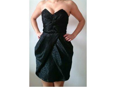 b268fbf966 CZARNA sukienka H M XS 34 TULIPAN MAŁA CZARNA - 6616495799 ...