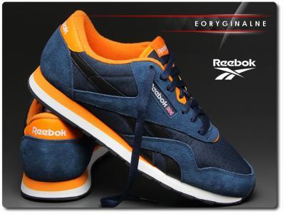 Buty reebok classic nylon rs orange (v66928) Zdjęcie na imgED