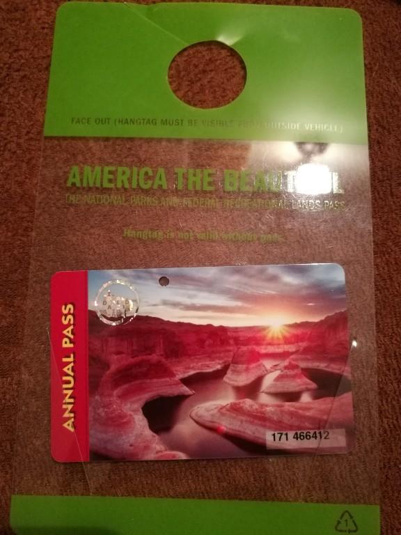 Karta Wstepu Wjazdu Do Parku Yellowstone Usa 7075462982