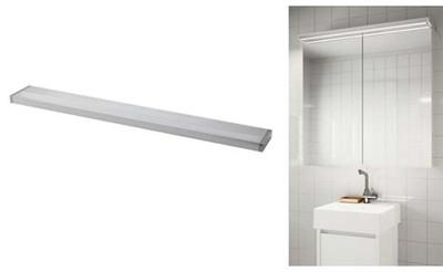 Ikea Godmorgon Oświetlenie Do łazienki Led 6091615361