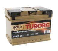 AKUMULATOR TUBORG GOLDTECH 65AH 630A P+