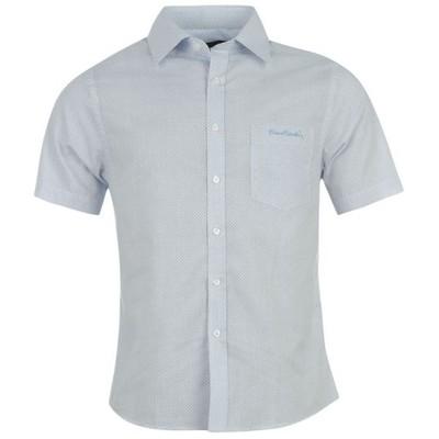 PIERRE CARDIN koszula TU roz. XL krótki rękaw