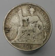 1928 Indochiny Francuskie 10 centymów
