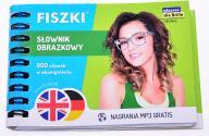 5537-90 FISZKI i#u SLOWNIK OBRAZKOWY 900 ANG NIEM