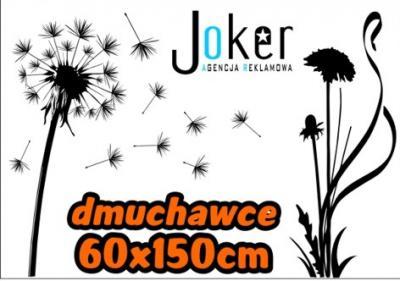 Naklejki na ścianę ścienne dmuchawce kwiaty 150 cm