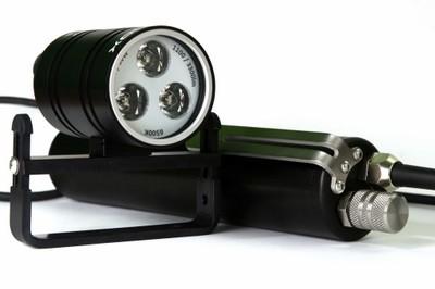 Latarka 4 LEDOX-Silver 30W/3300 lm, Li-ion 15,6Ah