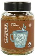 Clipper Fairtrade Organic Medium Roast Instant Cof