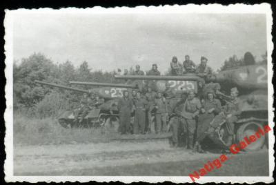 CZOŁGI T-34 85 lub T-44 LWP LATO