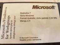 Windows 3.11 Komplet oryginalnych dyskietek