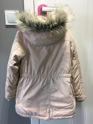 kurtka parka dla dziewczynek hm