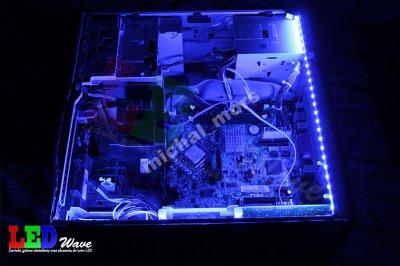 Oświetlenie Led Tuning Komputera Modding 2x40cm M