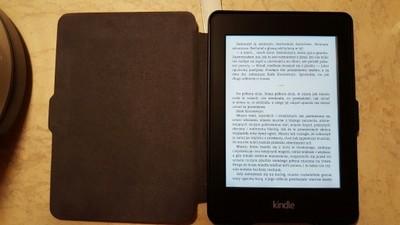Idealny czytnik Kindle Paperwhite 2 z podśw + etui