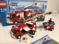 LEGO City 7239 ciężarówka strażacka OKAZJA !!!