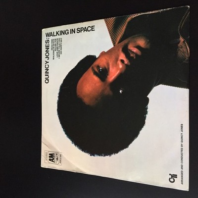 LP Quincy Jones - Walking In Space - Germany EX