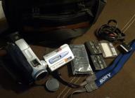 kamera SONY DCR-TRV18E MiniDV Kasety Torba