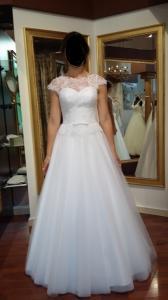bd5b87fa84 suknia ślubna wesele ślub biała S M 34 38 - 5563150769 - oficjalne ...