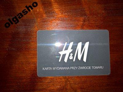 H M Karta Podarunkowa Na 271zl Za 250zl 6295392145 Oficjalne