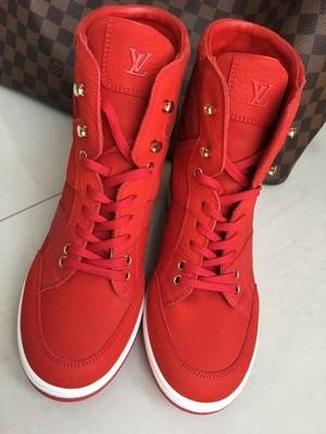 00081855 LOUIS VUITTON Sneakers nowe buty koturny Czerwone - 6681506884 ...