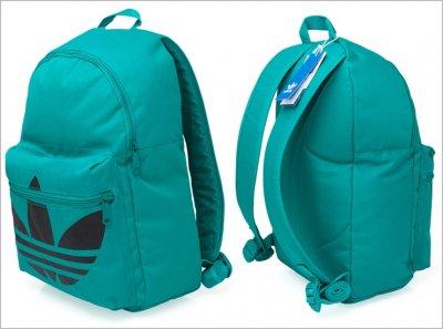 98d0d22ec5ae1 Plecak Adidas Originals - damski szkolny miętowy - 6315182599 ...