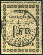 C. Madagaskar -reprint znaczka nr 12